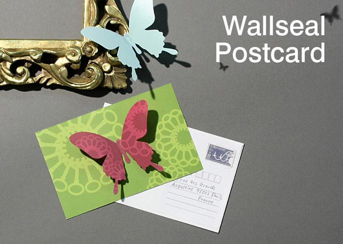 ディ・クラッセ DI CLASSE ウォールシール ポストカード
